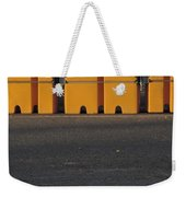 Barriers Of Yellow Weekender Tote Bag