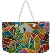 Barrio Lindo Weekender Tote Bag by Oscar Ortiz