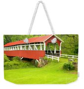 Barron's Covered Bridge Weekender Tote Bag