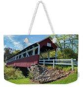Barronvale Bridge  Weekender Tote Bag by Cindy Lark Hartman