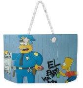 Bart Was Here Weekender Tote Bag