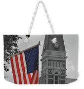 Bartholomew County Court House Weekender Tote Bag