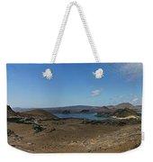 Bartolome Island Panorama Weekender Tote Bag