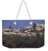 Base Camp - White Ledge Plateau - San Rafael Wilderness Weekender Tote Bag