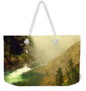 Base Of The Falls 2 Weekender Tote Bag