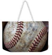 Baseball Close Up Weekender Tote Bag