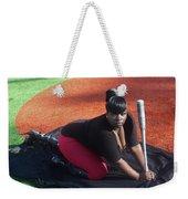 Baseball Girl 3 Weekender Tote Bag