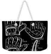 Baseball Glove Patent 1910 In Black Weekender Tote Bag