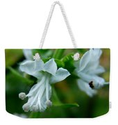 Basil Bloom Weekender Tote Bag