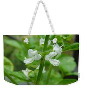 Basil Blossom Weekender Tote Bag