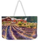 Lavender Smell Weekender Tote Bag