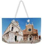 Basilica Dei Santo Giovanni E Paolo Weekender Tote Bag