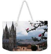 Basilica Del Voto Nacional Weekender Tote Bag