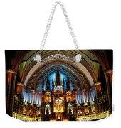 Notre - Dame Basilica - Montreal Weekender Tote Bag