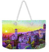 Basilica Of St. Francis Of Assisi Weekender Tote Bag