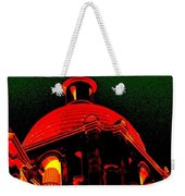 Basilica Of The Little Flower, Dome With Green Sky Weekender Tote Bag