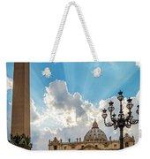 Basilica Papale Di San Pietro Weekender Tote Bag