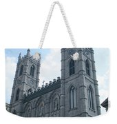 Basilique Notre Dame Weekender Tote Bag
