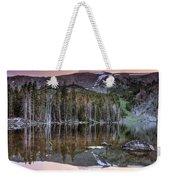 Basin Lake Sunset Weekender Tote Bag