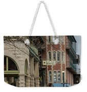 Basin Park And Flatiron Flats Weekender Tote Bag
