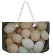 Basket Of Eggs  Weekender Tote Bag