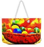 Basket Of Eggs - Pa Weekender Tote Bag