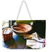 Basket Of Eggs Weekender Tote Bag