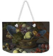 Basket Of Fruits Weekender Tote Bag
