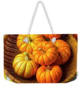 Basket Of Pumpkins Weekender Tote Bag