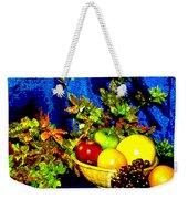 Basket With Fruit Weekender Tote Bag