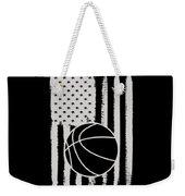 Basketball American Flag Usa Apparel Weekender Tote Bag