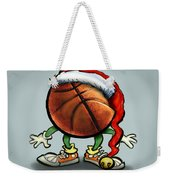 Basketball Christmas Weekender Tote Bag