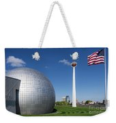Basketball Hall Of Fame Weekender Tote Bag