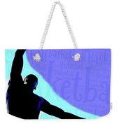 Basketball Poster Weekender Tote Bag