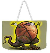 Basketball Saurus Rex Weekender Tote Bag