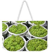 Baskets Of White Grapes Weekender Tote Bag