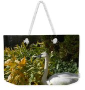 Basking By The Pond Weekender Tote Bag