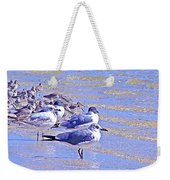 Basking On The Seashore Weekender Tote Bag