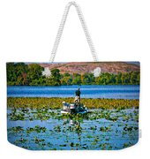 Bass Fishing Weekender Tote Bag