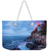 Bass Harbor Head Lighthouse Weekender Tote Bag