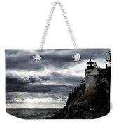 Bass Harbor Lighthouse In Acadia Np Weekender Tote Bag