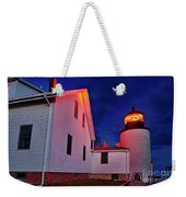 Bass Harbor Lighthouse Maine Weekender Tote Bag