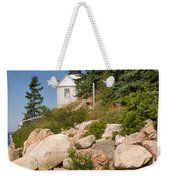 Bass Harbor Lighthouse Mt Desert Island Maine Weekender Tote Bag