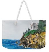 Bass Light Weekender Tote Bag