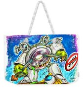 Bass Monster Weekender Tote Bag