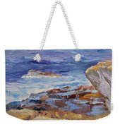 Bass Rocks Weekender Tote Bag