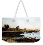 Bass Rocks Sunset Weekender Tote Bag