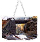 Bastion Falls Bridge 2 Weekender Tote Bag