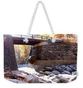 Bastion Falls Bridge 4 Weekender Tote Bag