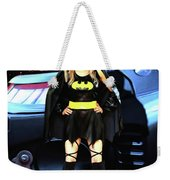 Bat Gal In The City Weekender Tote Bag